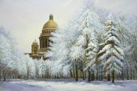 Исаакиевский собор. Зимнее кружево