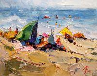 Летние истории. Разноцветные зонтики N6