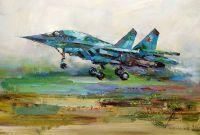 Самолет Су 34