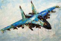 Самолет МиГ-35 в полете