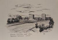 Воронеж. Березовая роща - 1970 год