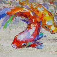Карпы Кои. Японская золотая рыбка на удачу N12