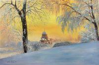 Утром ранним на рассвете... В Муринском парке, Санкт-Петербург