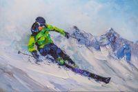 Лыжник. На склонах Эвереста