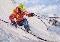 Лыжник. На склонах Эвереста N2
