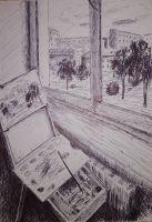 Вид за окном