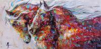 Лошади. Движение вперёд