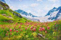 Домбай. Горы Кавказа