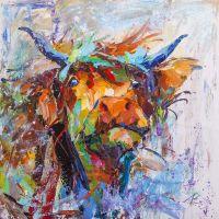 Портрет быка