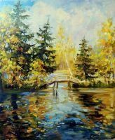 Золотая осень в Абрамцеве