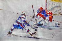 Хоккей. Решающий удар