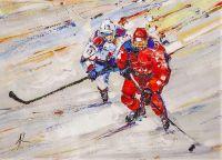 Хоккей. Побеждает сильнейший