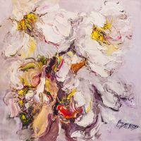 Белые цветы. Экспрессия N2