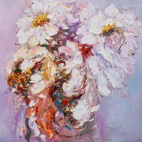 Белые цветы. Экспрессия