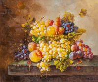 Натюрморт с фруктами в стиле барокко N4