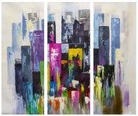Разноцветный мегаполис. Триптих