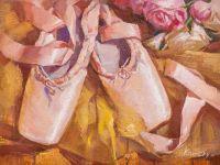 Розовые пуанты