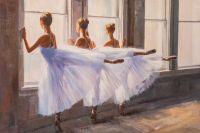 Балерины в танцевальном классе