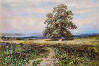 Копия картины Ивана Шишкина. Среди долины ровныя…
