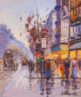 Сны о Париже N4 (по мотивам картин Бланшара и Кортеса)