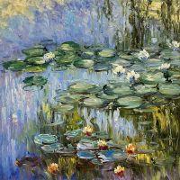 Водяные лилии, N2, копия С.Камского картины Клода Моне