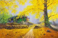 Ловя листвою солнце