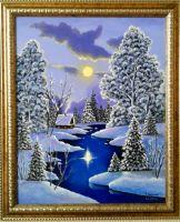 Сказочная зимняя ночь