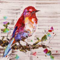 Певчая птичка N2