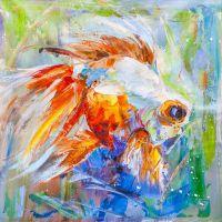 Золотая рыбка для исполнения желаний. N23