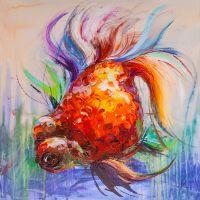 Золотая рыбка для исполнения желаний. N24