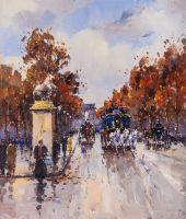 Сны о Париже N7 (по мотивам картин Бланшара и Кортеса)