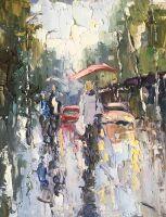 Дождь летним днем