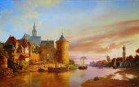 Старый город у реки