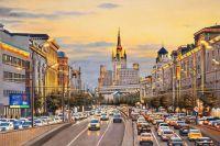 Огни вечерней Москвы