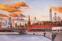 Времена и эпохи. Вид на Кремль и Москва-Сити