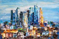 Вид на Москва-Сити. Деловое сердце столицы