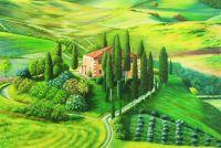 По мотивам пейзажи Тосканы 2