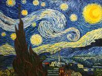 Звездная ночь.худ.А.Бруно