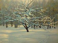 Абрикоса в снегу