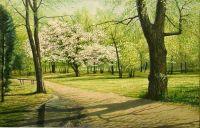 Весна в парке
