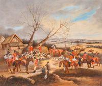 Копия картины Генри Томаса Олкена. Охотничья сцена N2