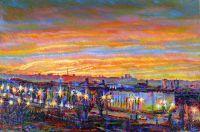 Восход над Московским шоссе