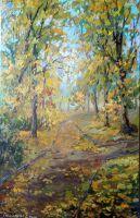 Осень в Александровском саду
