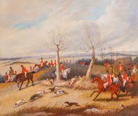 Копия картины Генри Томаса Олкена. Охотничья сцена N3