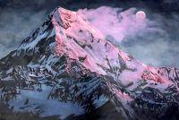 Горное сияние.худ.А.Бруно