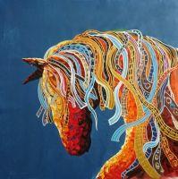 Лошадь.худ.Л.Гарсия