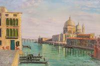 Вольная копия картины Б. Беллотто. Большой канал в Венеции с Санта Мария делла Салюте