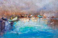 Лодочки в бирюзовом море