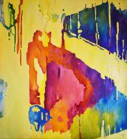 ЗВУКИ - оригинальная картина маслом, настенное искусство, домашний декор, офисный декор, идея подарка, абстракция интерьера