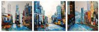 New York, I love that city (Нью-Йорк, я люблю этот город). Триптих